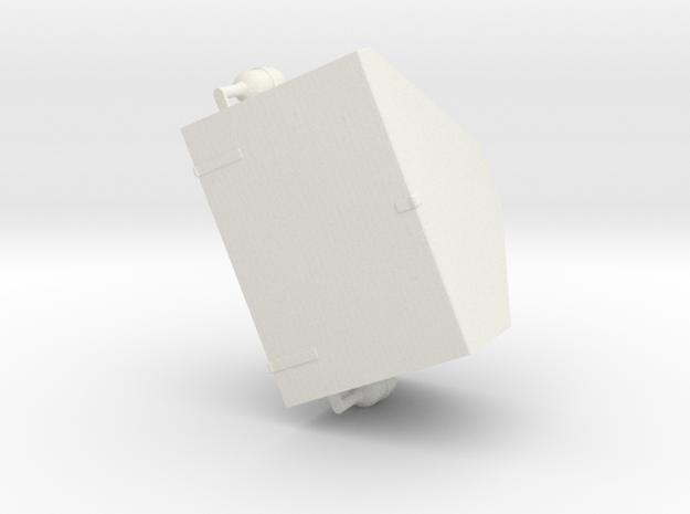 1/16 Churchill Turret Case - Turm Staukiste in White Strong & Flexible