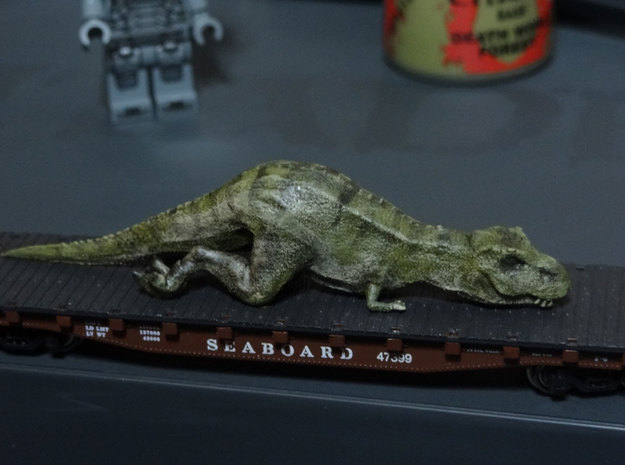 T. Rex (sedated) in N Scale 1:160