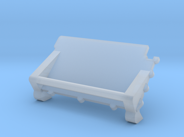 F07C-Panel 4-folded Table in Smooth Fine Detail Plastic