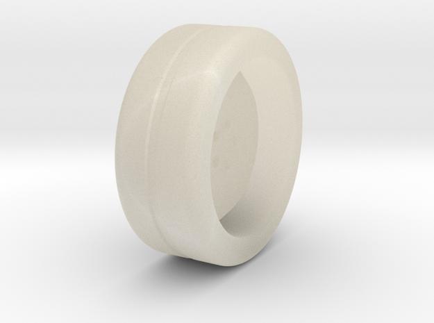 Wheel Base in White Acrylic