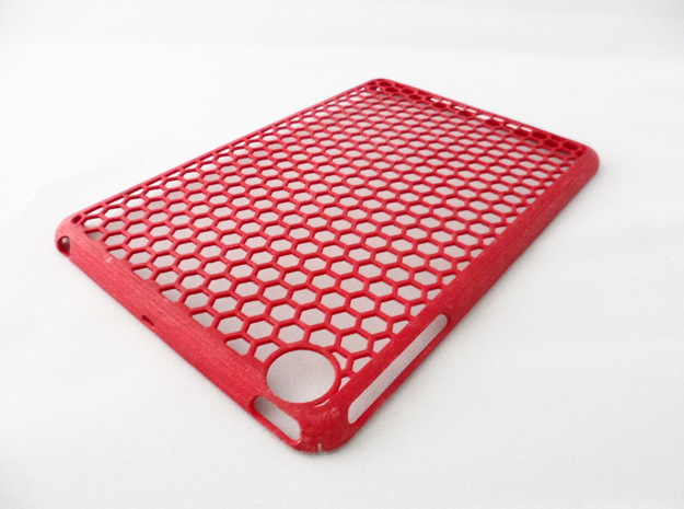 Honey Comb iPad Mini Case 3d printed