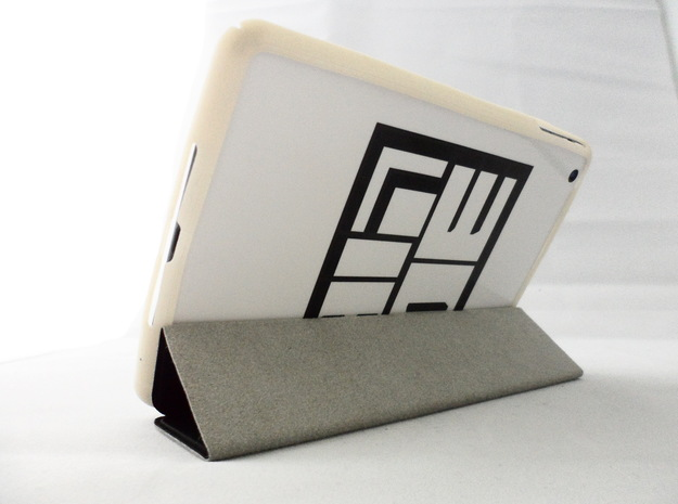 iPad Mini Bumper in White Natural Versatile Plastic