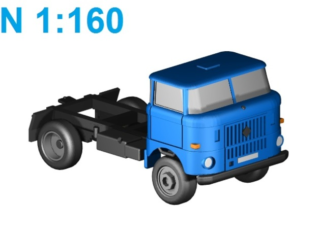 W50 4WD short basis (N,1:160) in Smooth Fine Detail Plastic