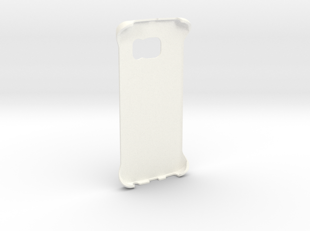 Customizable Samsung S6 Edge case in White Processed Versatile Plastic