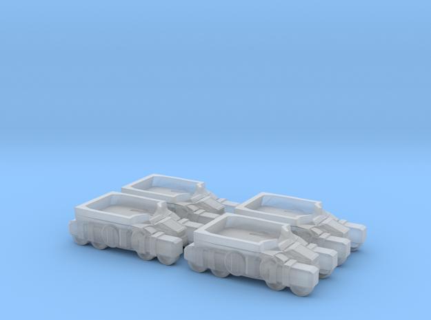 Light Assault Walker Transport Truck Platoon 6mm E in Smooth Fine Detail Plastic