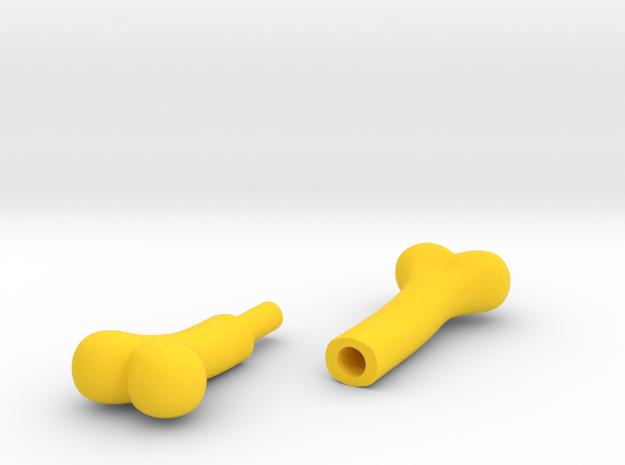 4mm bone (2-pieces) 3d printed