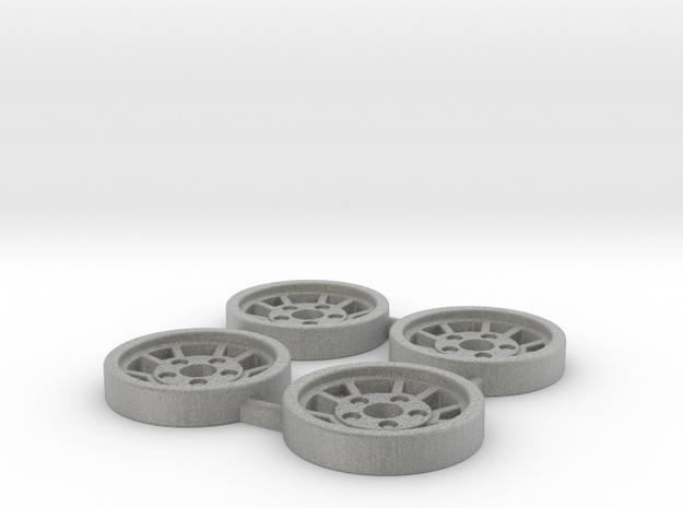 Tapacubos Lancia Stratos modelo A in Metallic Plastic