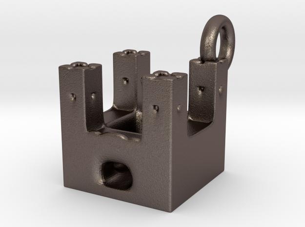 bulwark 2 go keychain fix in Stainless Steel