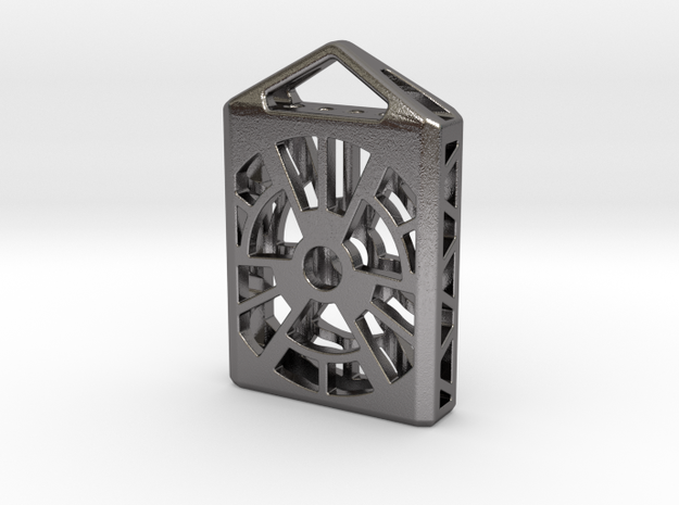 Radiation Lantern 2: Tritium (All Materials) in Polished Nickel Steel
