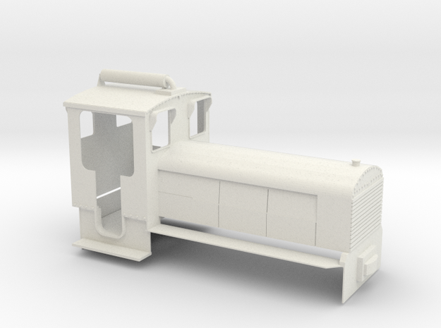 B-1-19-schneider-1a in White Natural Versatile Plastic