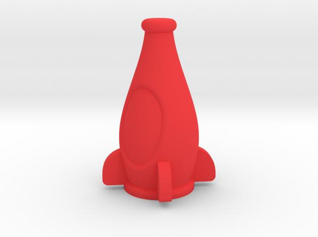 Nuka Cola in Red Processed Versatile Plastic