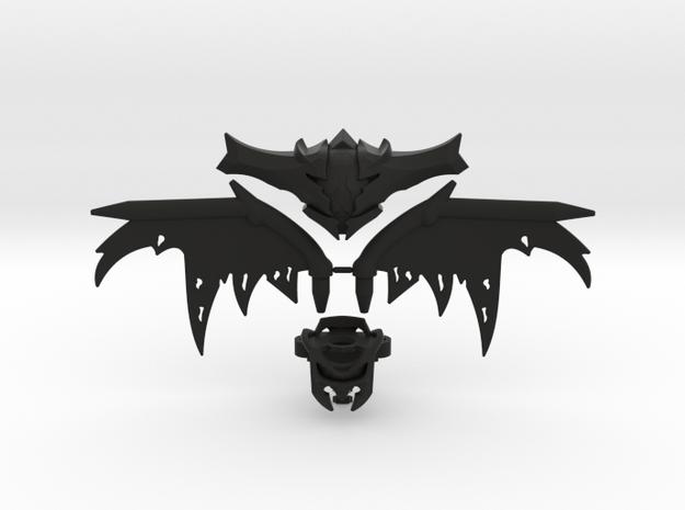 Oryx Pack in Black Natural Versatile Plastic