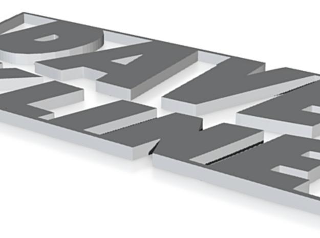 DK Shapeways 3d printed