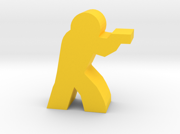 Game Piece, Character with Pistol