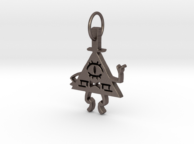 Bill Cipher Pendant in Stainless Steel