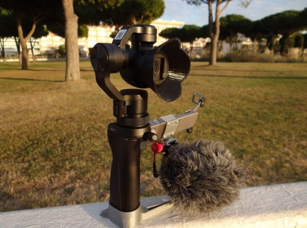 dji osmo sunshield in White Strong & Flexible Polished