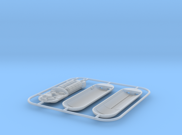 3.3 cm PHOTON TORPEDO in Smoothest Fine Detail Plastic