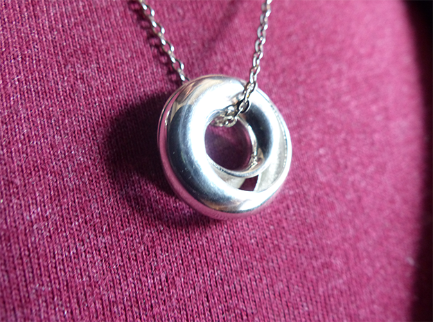 Infinituition in Fine Detail Polished Silver