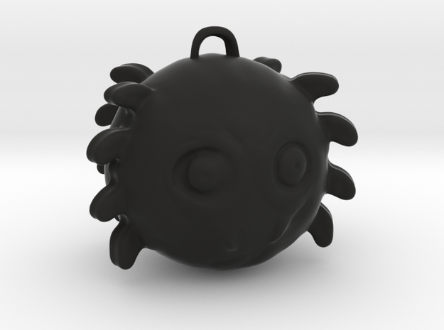 Halloweenspider in Black Natural Versatile Plastic
