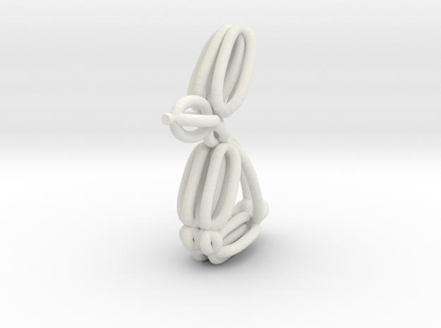 Balloon Rabbit Pendant