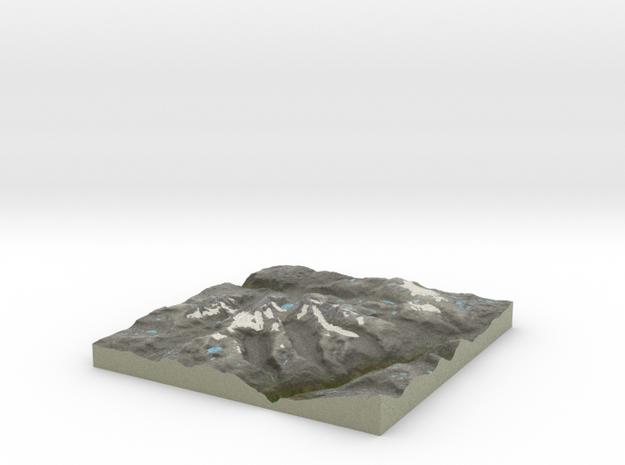 Terrafab generated model Sat Nov 14 2015 02:17:08  in Full Color Sandstone