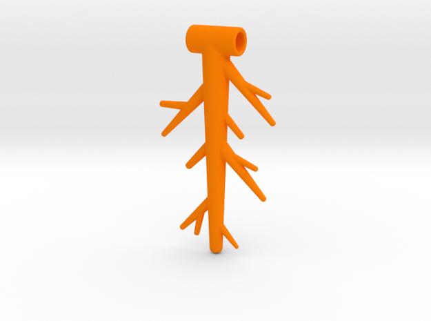 003  NECKLACE in Orange Processed Versatile Plastic