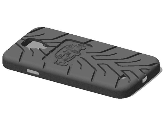 Galaxy S4 Eleanor Mustang A048 3d printed
