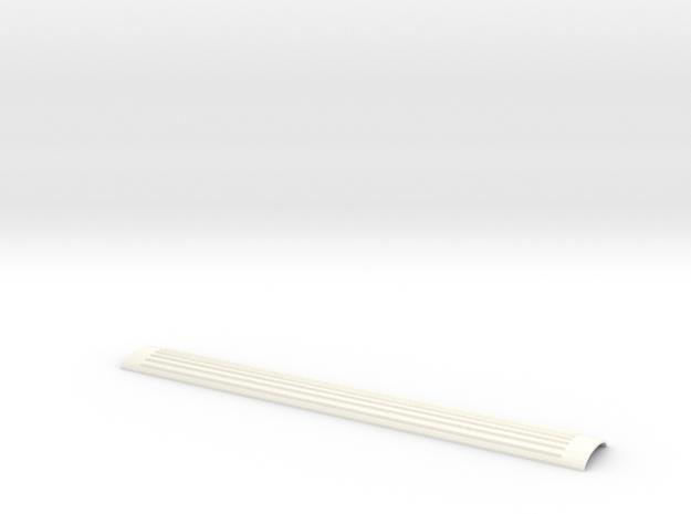 Dach Ew III  SBB Spur TT in White Processed Versatile Plastic