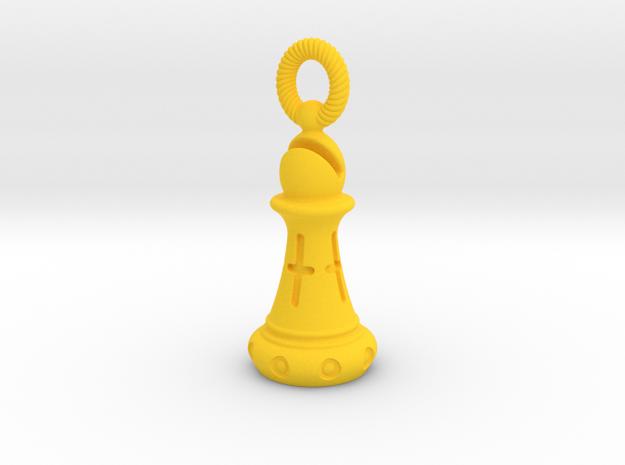 Chess Bishop Pendant 3d printed