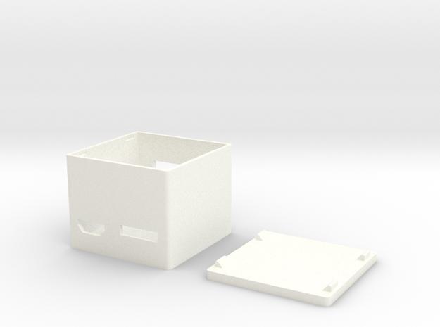 VoCoreCase in White Processed Versatile Plastic