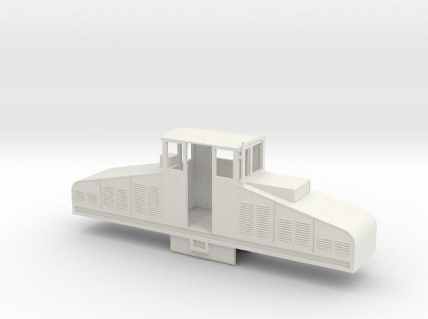 B-1-55-crochat-50cm-loco1 in White Strong & Flexible
