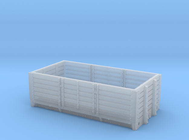 2mmFS GNR 6 plank open wagon in Smooth Fine Detail Plastic