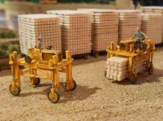 N logging - Gerlinger Lumber Carrier (3 pcs) 3d printed
