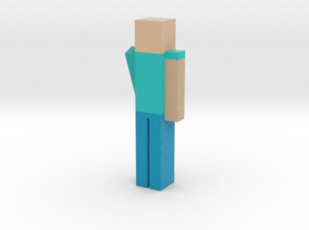 Mincraft Person in Full Color Sandstone