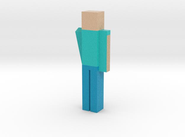 Mincraft Guy in Full Color Sandstone