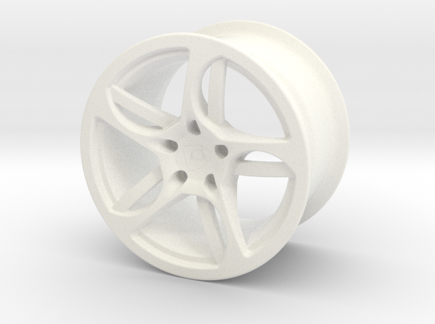 Wheel Lamborghini in White Strong & Flexible Polished