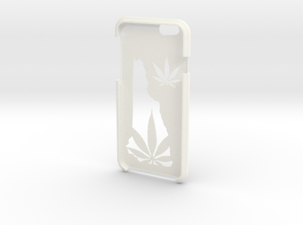 New Hampshire Legalize It IPhone 6s Case in White Strong & Flexible Polished
