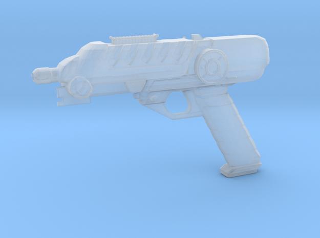 Scifi Blaster Z aprox 1:12 in Smoothest Fine Detail Plastic