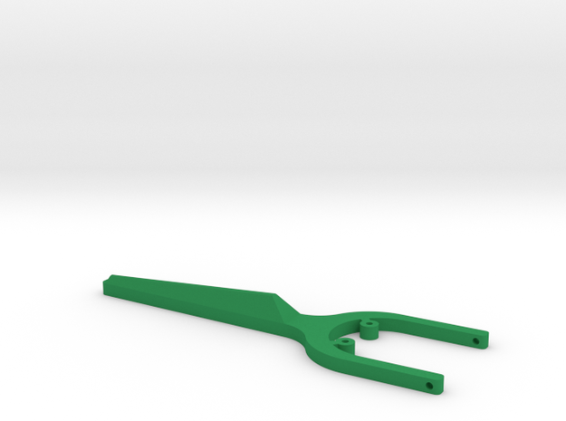 Re-usable Floss Holder in Green Strong & Flexible Polished
