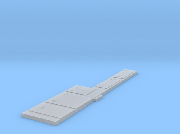 N Scale C39-8 Battery Boxes in Smoothest Fine Detail Plastic