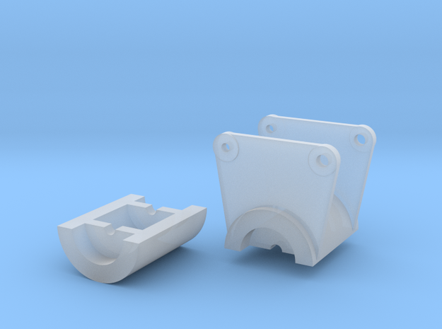 14 Ft Saw Double Housing in Smooth Fine Detail Plastic