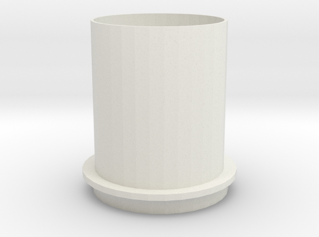 K-cup Recycle Shell in White Natural Versatile Plastic