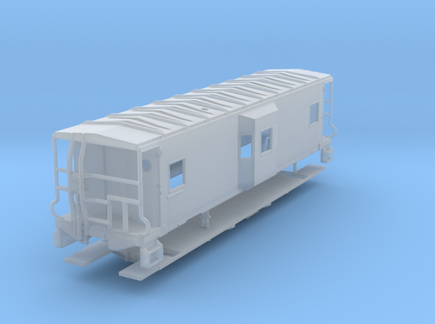 Sou Ry. bay window caboose - Gantt - N scale in Frosted Ultra Detail