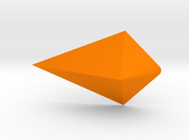 Steven Universe - Gem - Jasper (Small) in Orange Processed Versatile Plastic
