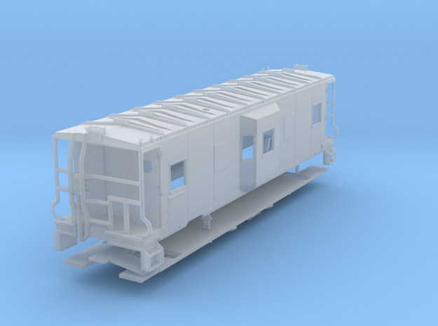 Sou Ry. bay window caboose - mod. Hayne - N scale in Smooth Fine Detail Plastic