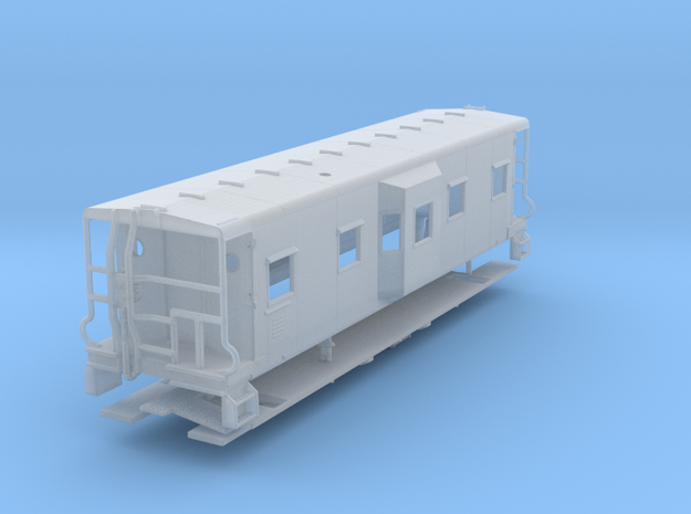 Sou Ry. bay window caboose - Round roof - N scale