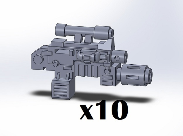 10x Melta Combination Weapons in Frosted Ultra Detail