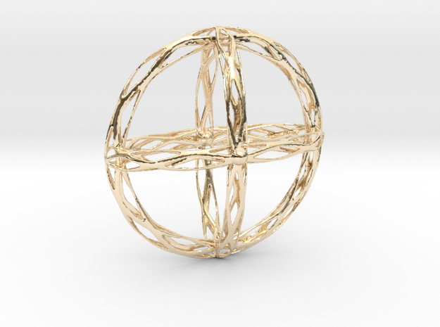 Cross Pendent in 14K Yellow Gold