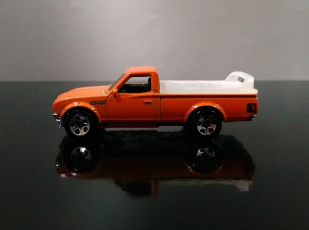 Datsun 620 Hard cover Hotwheels in Frosted Extreme Detail
