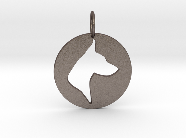 Creator Keychain in Stainless Steel